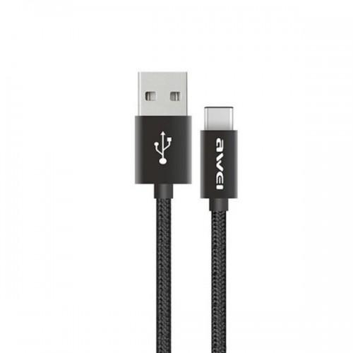 USB кабель Awei CL-85 Type-C чёрный
