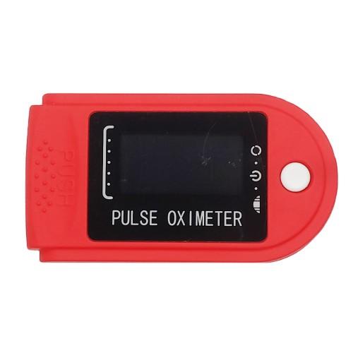 Пульсоксиметр VARIUM XY-010 красный